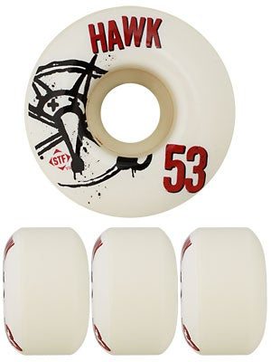 Bones STF Hawk Numbers V4 Wheels