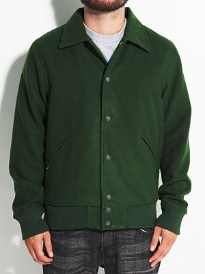 Brixton Banner Jacket Hunter Green XXL