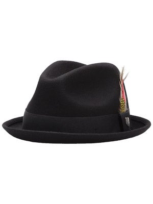 Brixton Gain Fedora Black Felt MD