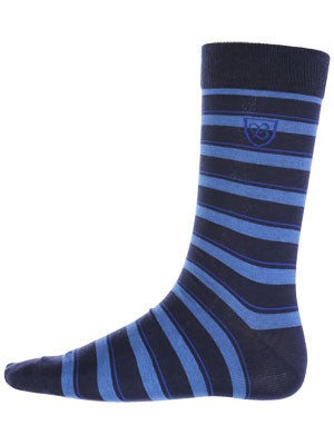 Brixton Gordon Socks Blue