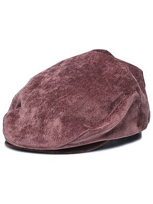 Brixton Hooligan Hat Brown Corduroy LG