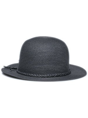 Brixton Louella Girl's Hat Black Straw SM