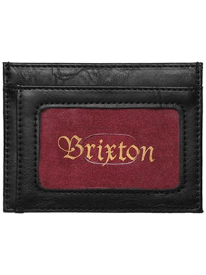 Brixton Otis Card Wallet Black