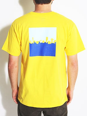 Chocolate Knockout Chunk Tee Yellow SM
