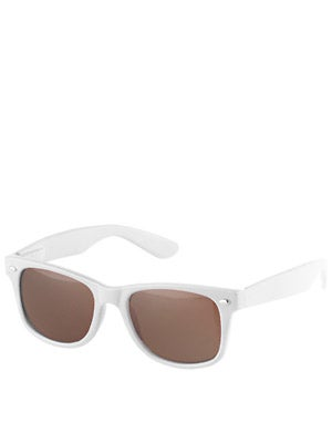 Chocolate Chunk Sunglasses White