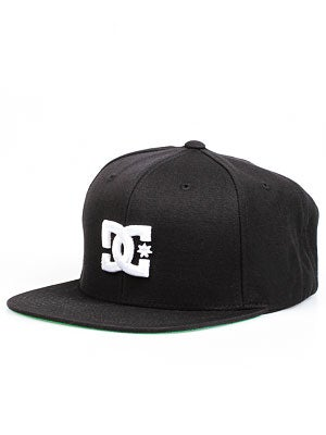 DC Back To It Starter Hat Black/White/BKW Adj.