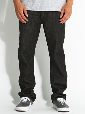 Core Straight Jeans Black Rinse 34x32