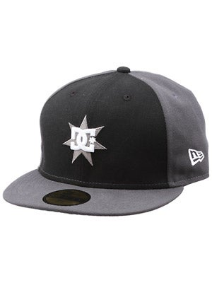 DC Supergnar Fitted Hat Black 7 1/4