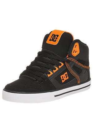 DC Spartan Hi WC Shoes  Black/Orange