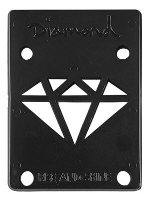 Diamond Black Riser Pads 1/8