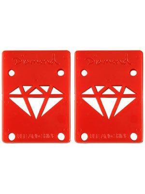 Diamond Red Riser Pads 1/8