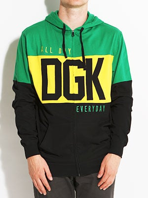 DGK Int'ly Known Hoodizp Green SM