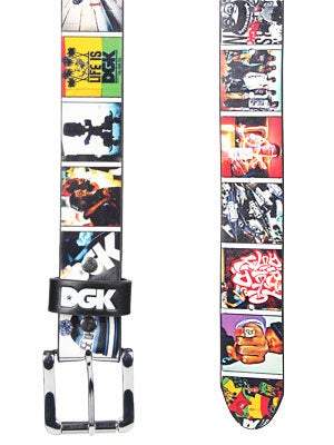 DGK Instagram Belt Black Adjustable