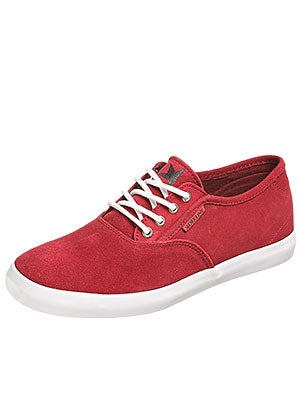 Dekline Daily Shoes  Cardinal/White