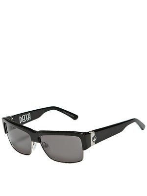 Dragon Decca Sunglasses Jet w/Grey Lens