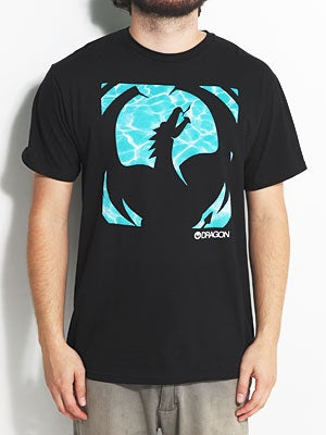 Dragon Poolside Tee Black SM