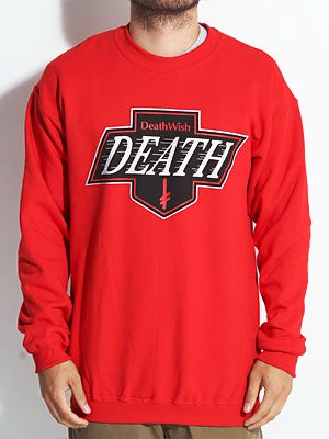 Deathwish Death Kings Crewneck Red/Black SM