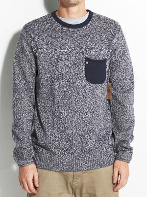 Element Emerald Floyd Sweater Indigo LG
