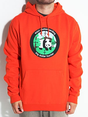 Enjoi Big Dollar Hunter Hoodie Orange SM