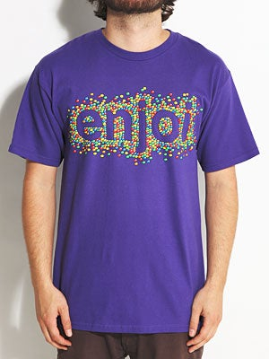 Enjoi Candy Coated Tee Purple SM