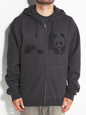 Enjoi Chester Hoodzip Charcoal SM