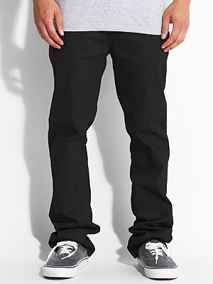 Enjoi Panda Slim Straight Jean Black Overdye 26