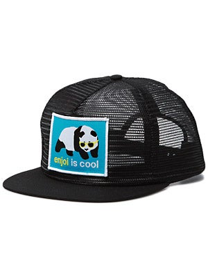 Enjoi Strainer Mesh Hat Black Adjustable