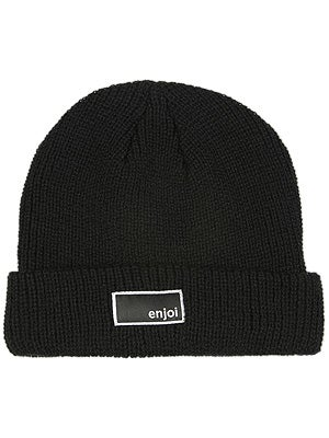 Enjoi Tuff Guy Beanie Black One Size