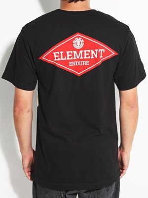Element Big Apple Tee Black MD