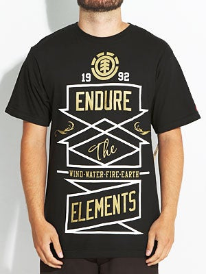 Element Directional Tee Black SM