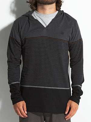 Element Erick L/S Hooded Knit Black MD