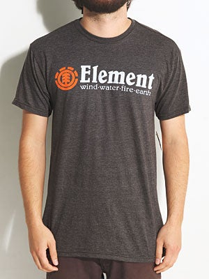 Element Horizontal 50-50 Jersey Tee Black MD