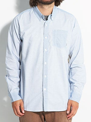 Element Kincaid L/S Woven Shirt Blue SM