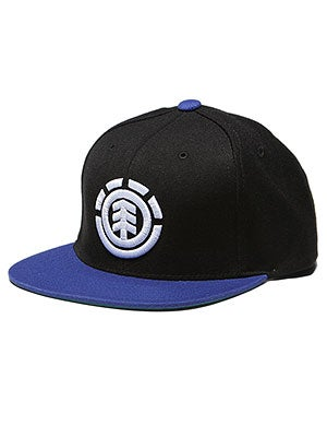 Element Knutsen Snapback Hat Black Adj.