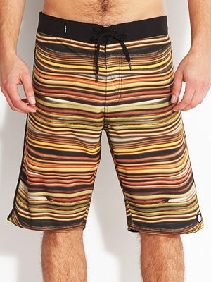 Element Stacked Eco Flex Boardshorts Black 28