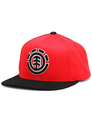 Element Standard Starter Hat Red Adj.