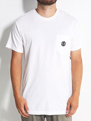Element Tree Pocket Tee White XL