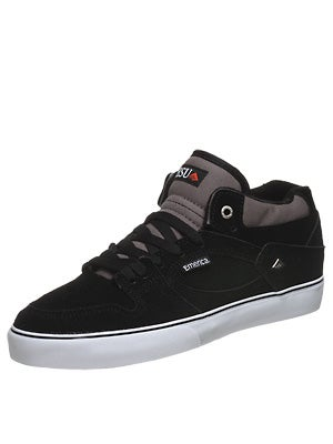Emerica Hsu Shoes  Black/Orange/White