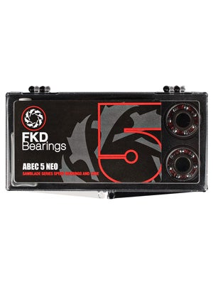 FKD Bearings Neoprene Shields ABEC 5