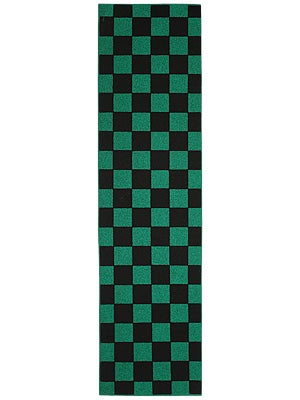 FKD Checkers Black/Green Griptape