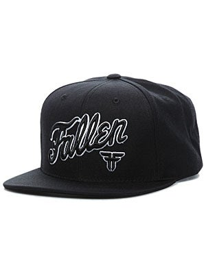 Fallen Fury Starter Hat Black/White