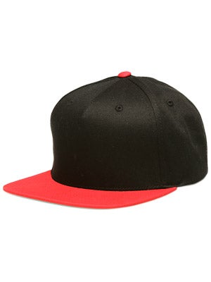 Fourstar Backside Snapback Hat Black/Red Adj.