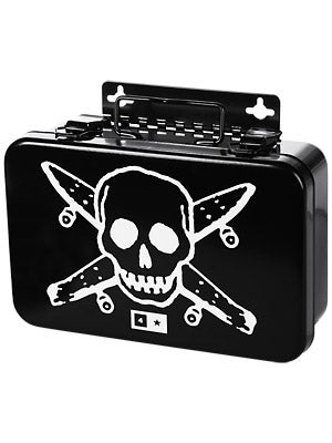 Fourstar Pirate Tool Box  Black