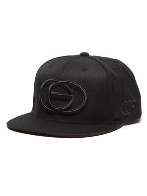 Gold Logo Starter Hat Black Adjust
