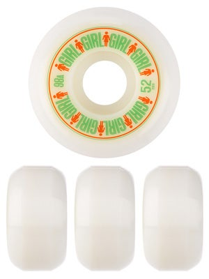 Girl Softline Wheels 98A 52mm