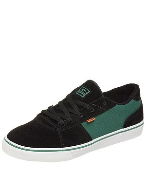 Globe Fate Shoes  Black/Foliage Green
