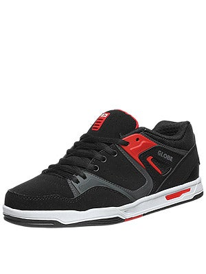 Globe Pursuit Shoes  Black/Fiery Red