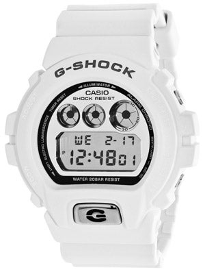 G-Shock Vintage Metal 6900 Watch  White