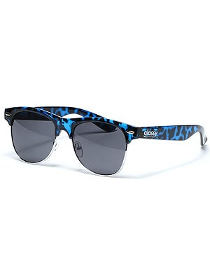Glassy Shredder Sunglasses  Brimely Blue Tortoise