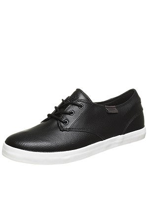 Habitat Garcia Shoes  Black Leather
